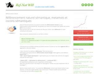 Détails : Référencement Google naturel