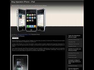 Détails : Dépannage iPhone