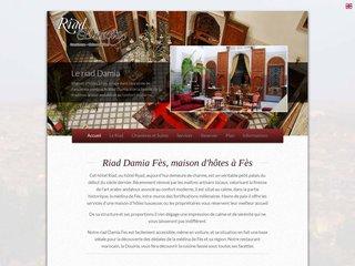 Détails : Location Riad Damia à Fès au Maroc
