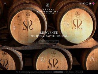 Détails : Château Sainte Roseline : Côtes de Provence d'exception