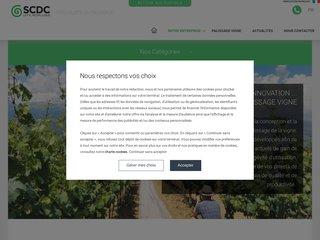 Détails : Tous les équipements pour le palissage des vignes - SCDC