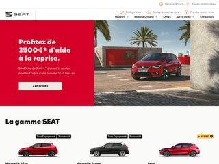 SEAT achat voitures neuves ou occasions