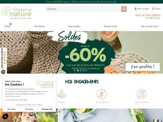 Détails : Shopping Nature: compléments alimentaires
