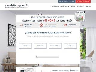 Détails : Simulation loi Pinel