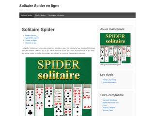 Détails : Spider solitaire en ligne