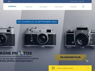 Détails : Volet roulant PVC et aluminium Soprofen