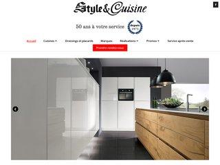 Détails : Cuisine équipée contemporaine chez Style et Cuisine