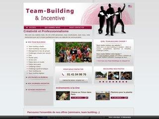 Détails : Incentive et Teambuilding