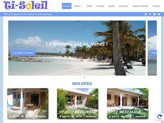 Détails : Ti-Soleil - location gites Guadeloupe Ste Anne