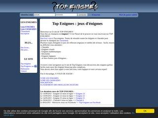 Détails : Top Enigmes : Enigmes et charades