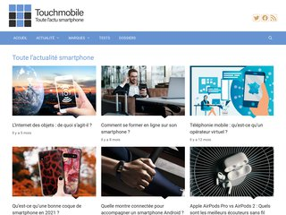 Détails : Smartphone, l'actualité par TouchMobile