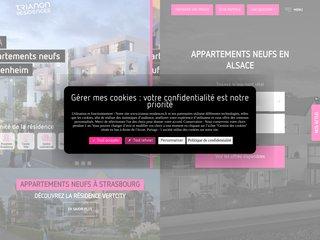 Détails : Promoteur Immobilier Alsace : Trianon Résidences