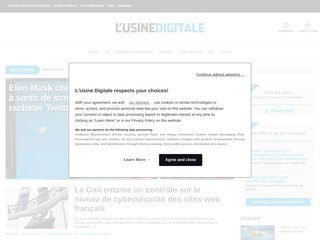 Détails : L'Usine Digitale : News de l'industrie numérique