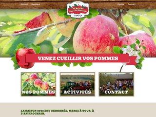 Détails : Autocueillette de pommes st-joseph-du-lac