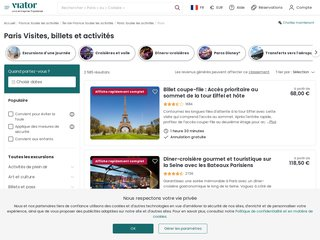 Détails : Visiter Paris - Viator