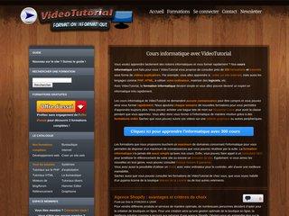 Détails : Formation informatique - www.videotutorial.fr