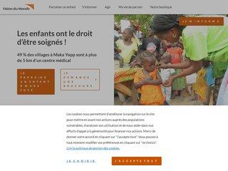 Détails : Vision du monde  – campagnes et actions de parrainage enfant pauvre