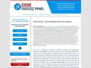 Détails : Zone Duflot