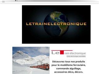 Détails : Cartes électroniques Modélisme ferroviaire