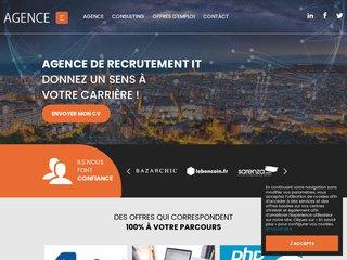 Détails : Agence-E Cabinet de recrutement web