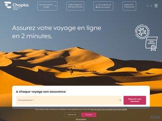 Détails : Chapka Assurances voyage