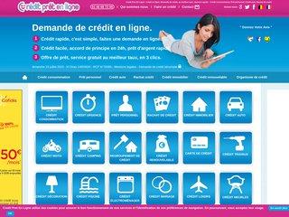 Détails : Votre crédit en ligne