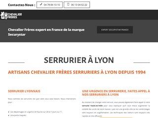 Détails : AB Chevalier Frères - Serrurier Lyon