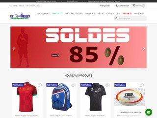 En Mode Rugby, boutique de rugby en ligne