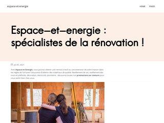 Détails : Agrandissement Isolation de Maison - Espace & Energie