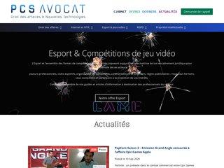 Avocat nouvelles technologies Paris - PCS Avocat