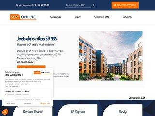 Détails : SCPI-online, place de marché SCPI