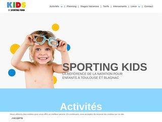 Détails : Sporting Kids