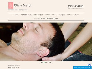 Olivia Martin Ostéopathe