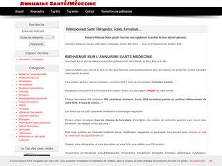 """reférencer un site """"santé"""""""