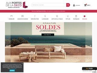aux portes de la d co meuble et d coration en ligne. Black Bedroom Furniture Sets. Home Design Ideas