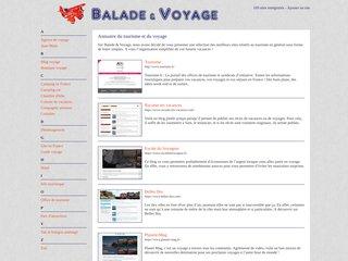 Balade et Voyage