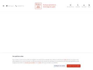 Literie Bottz spécialiste en matelas, sommiers et boxsprings haut de gamme à Liège