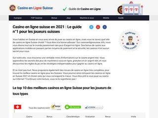 CasinoEnligneSuisse.info http://www.casinoenlignesuisse.info/