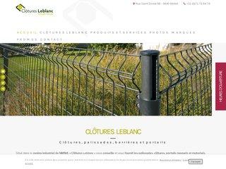 Clôtures Leblanc : clôtures, palissades et portails en Wallonie