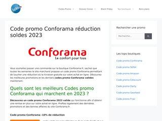 Les promotions conforama.fr