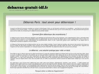 Débarasser votre appartement sur Paris