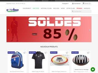 Votre expert rugby, sp?cialiste de l'?quipement technique et des collections sportswear