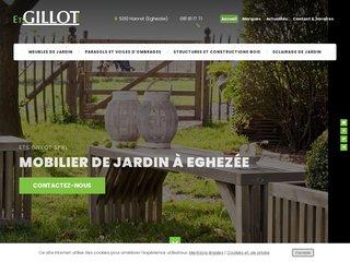 Ets Gillot Jardin, mobilier et constructions pour jardins ? Namur
