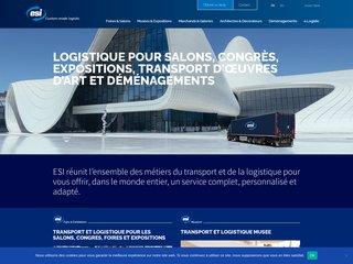 Groupe ESI Gestion transport et Logistique evenementielle