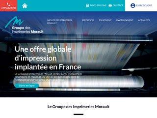 Groupe Morault - imprimeur paris - http://www.groupe-morault.com
