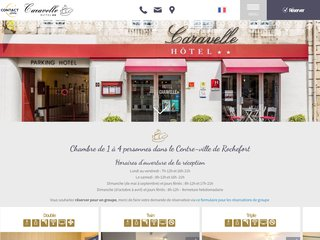 H?tel Caravelle Rochefort, h?bergement en Charente-Maritime
