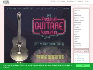 Festival guitare - Issoudun
