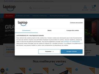 Laptop service : livraison de pc d'occasion partout en France.