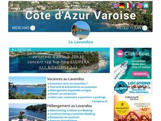 La Côte d'Azur à portée de main avec une location vacances au Lavandou