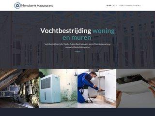 Menuiserie Maucourant en province de Namur et Brabant wallon